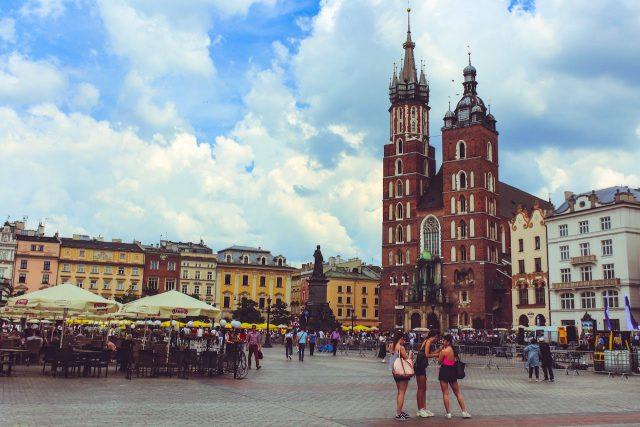 Tania randka przy Starym Rynku w Krakowie